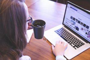 Página web en WordPress publicidad constante